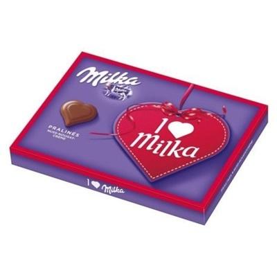 I love Milka-Herzen - 110 g