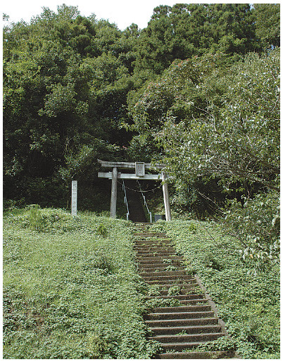 The Haguro Kashima Shrine in Nishi-Shioko