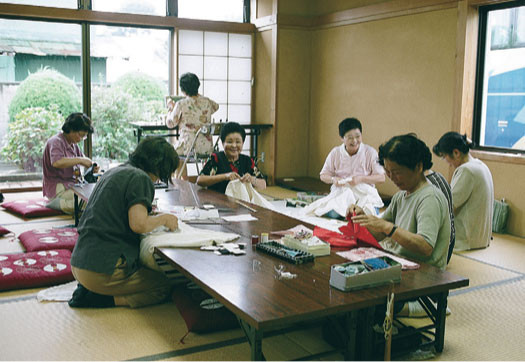 Sewing costumes, 2006
