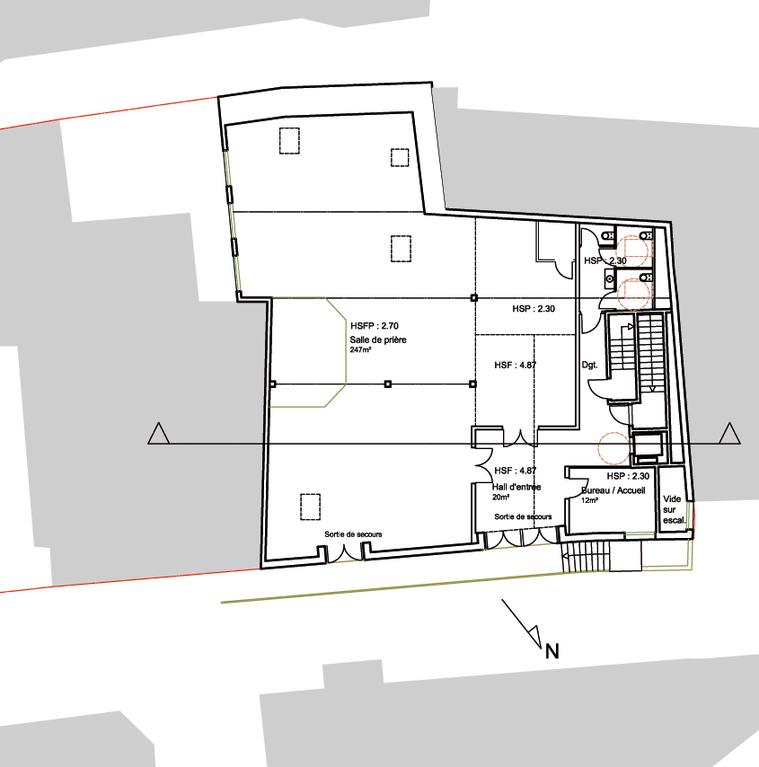 Projet : Plan du Rez-de-Chaussée
