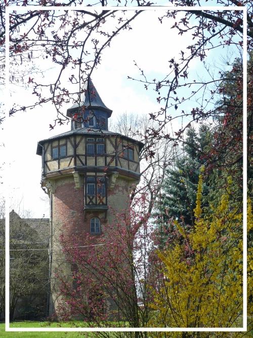 der 1905 errichtete Wasserturm