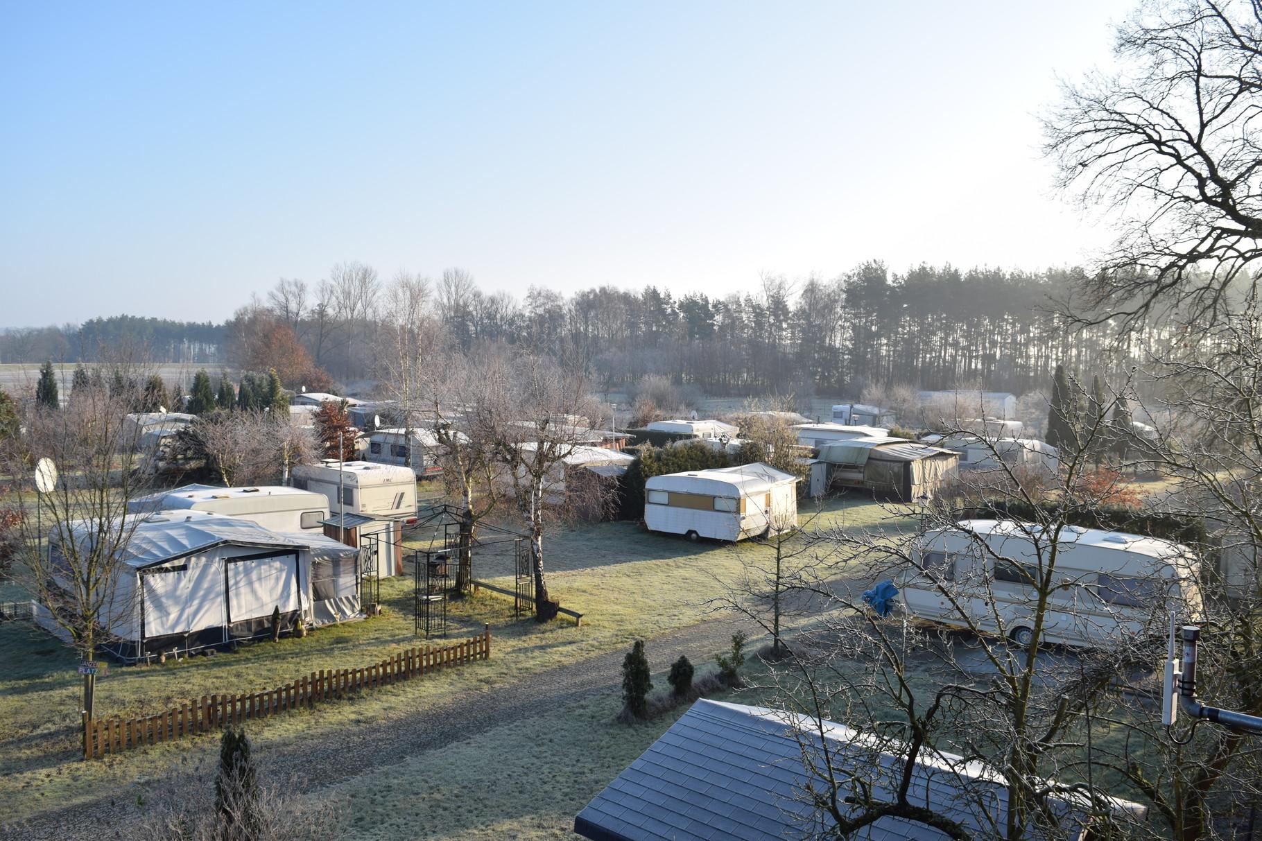Winterliche Morgenstimmung im Februar