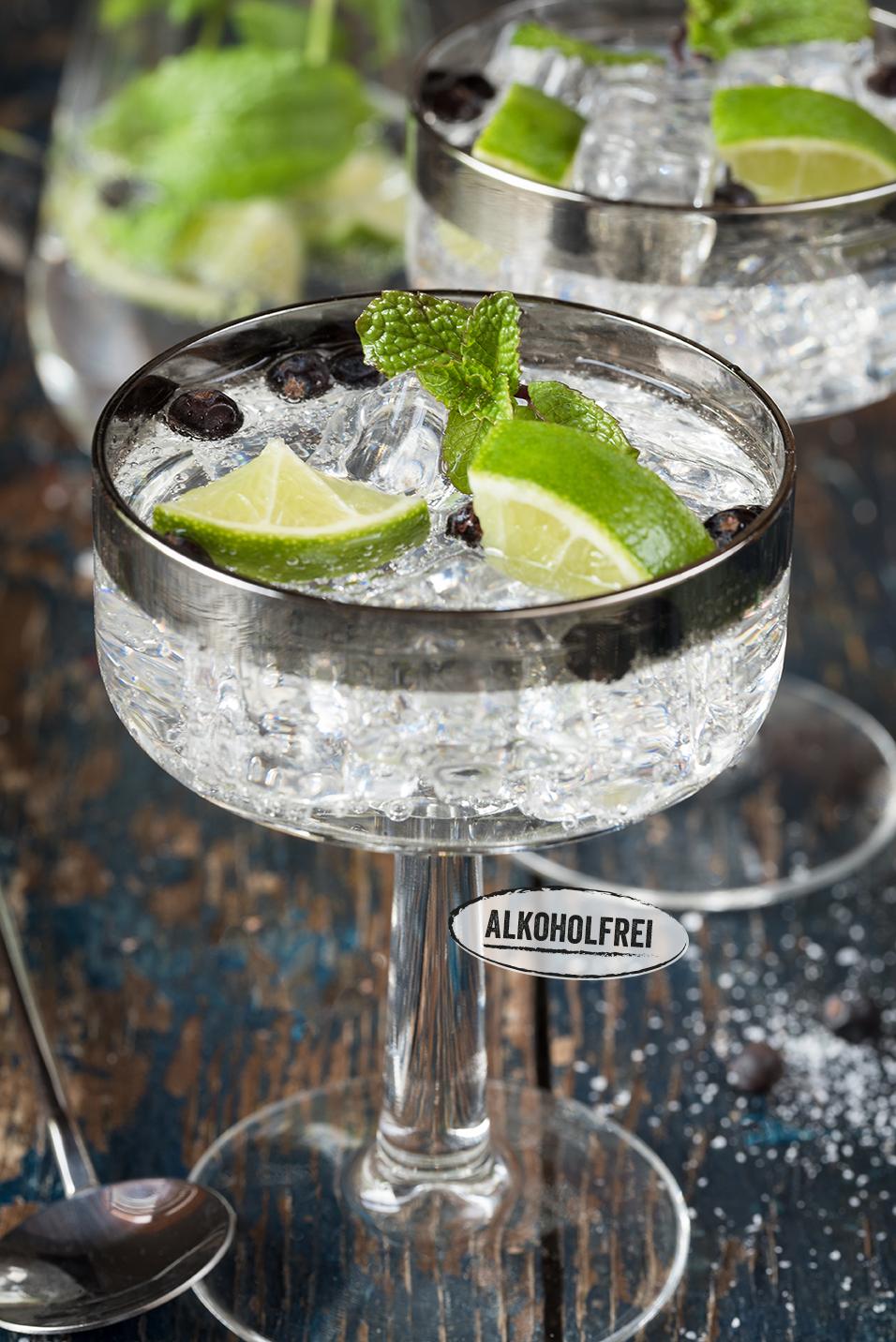Tonic Water mit Wacholder