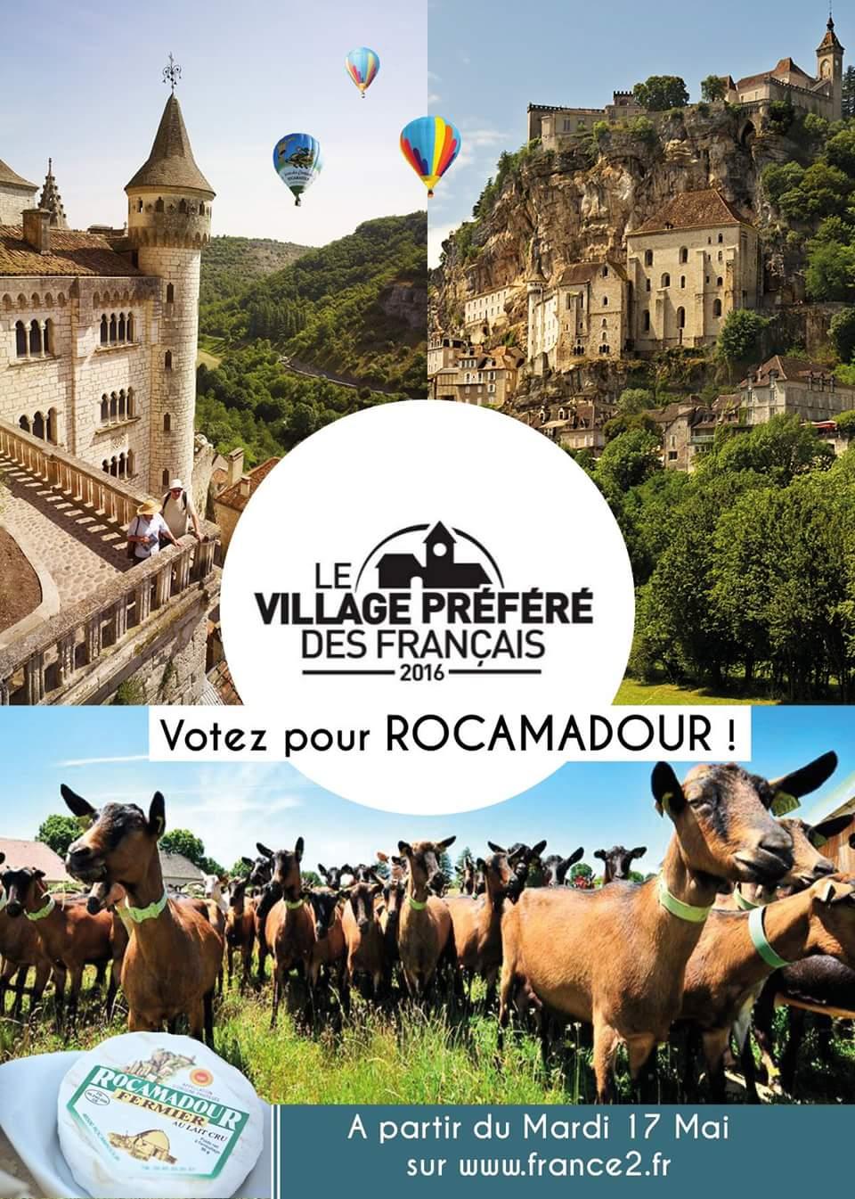 Rocamadour village préféré des français