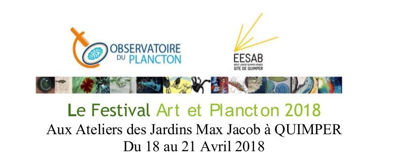 Art & Plancton Festival - QUIMPER (Avril 2018)