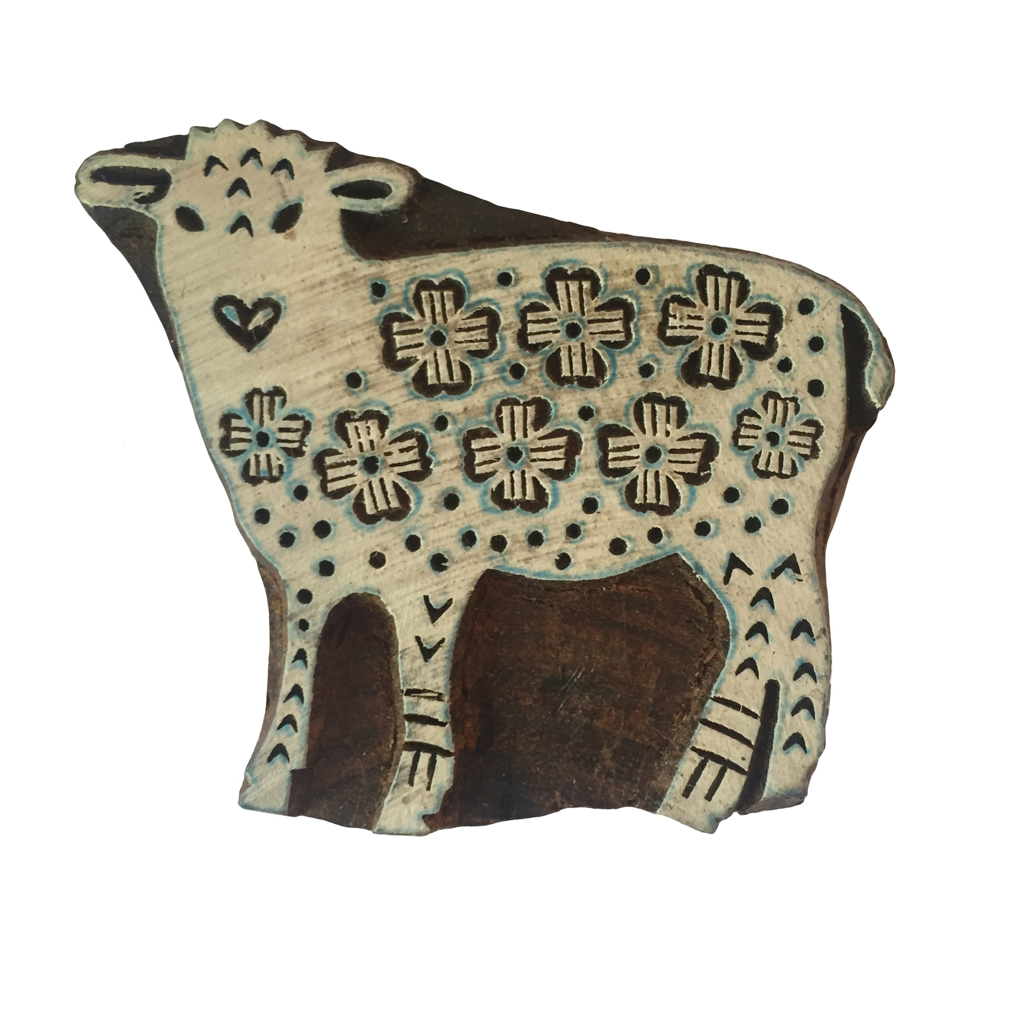 Block Print Stamp Sheep  M 51