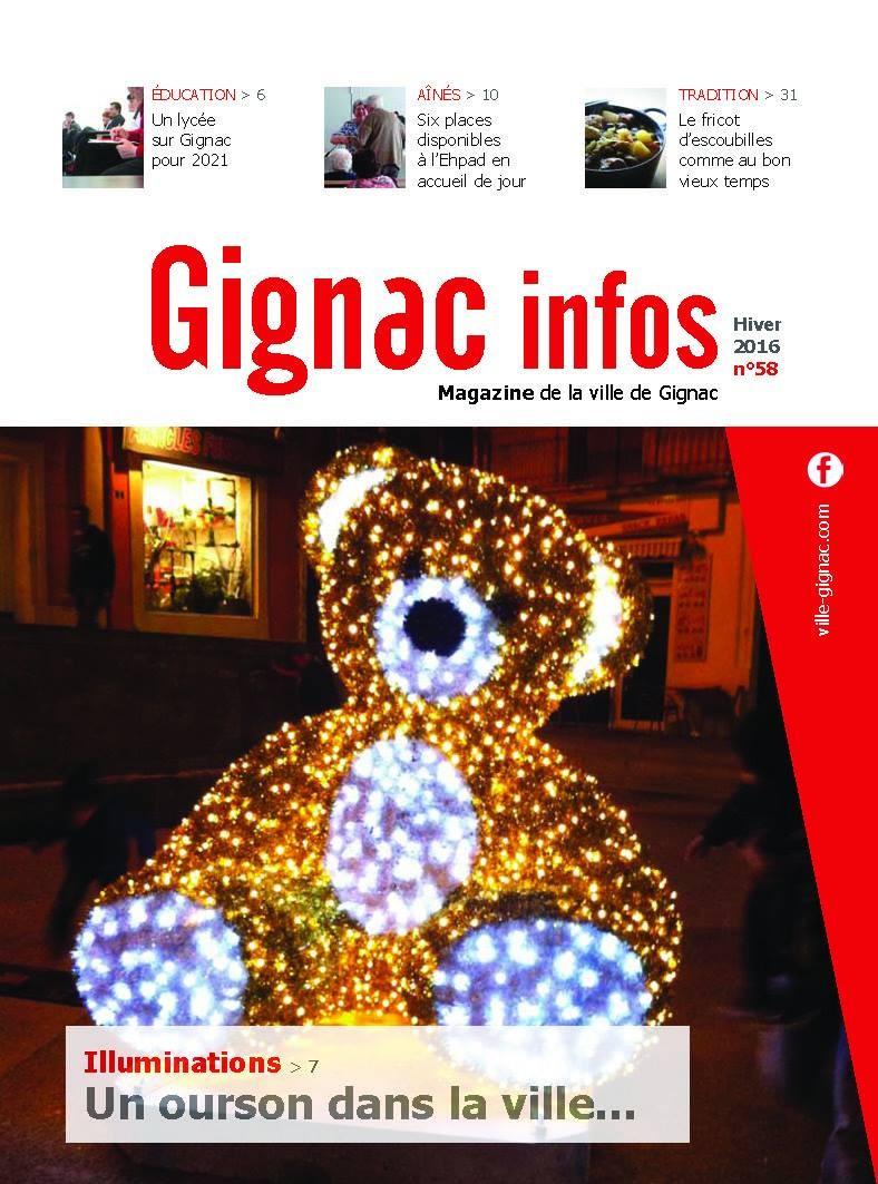 Gignac Infos Hiver 2016