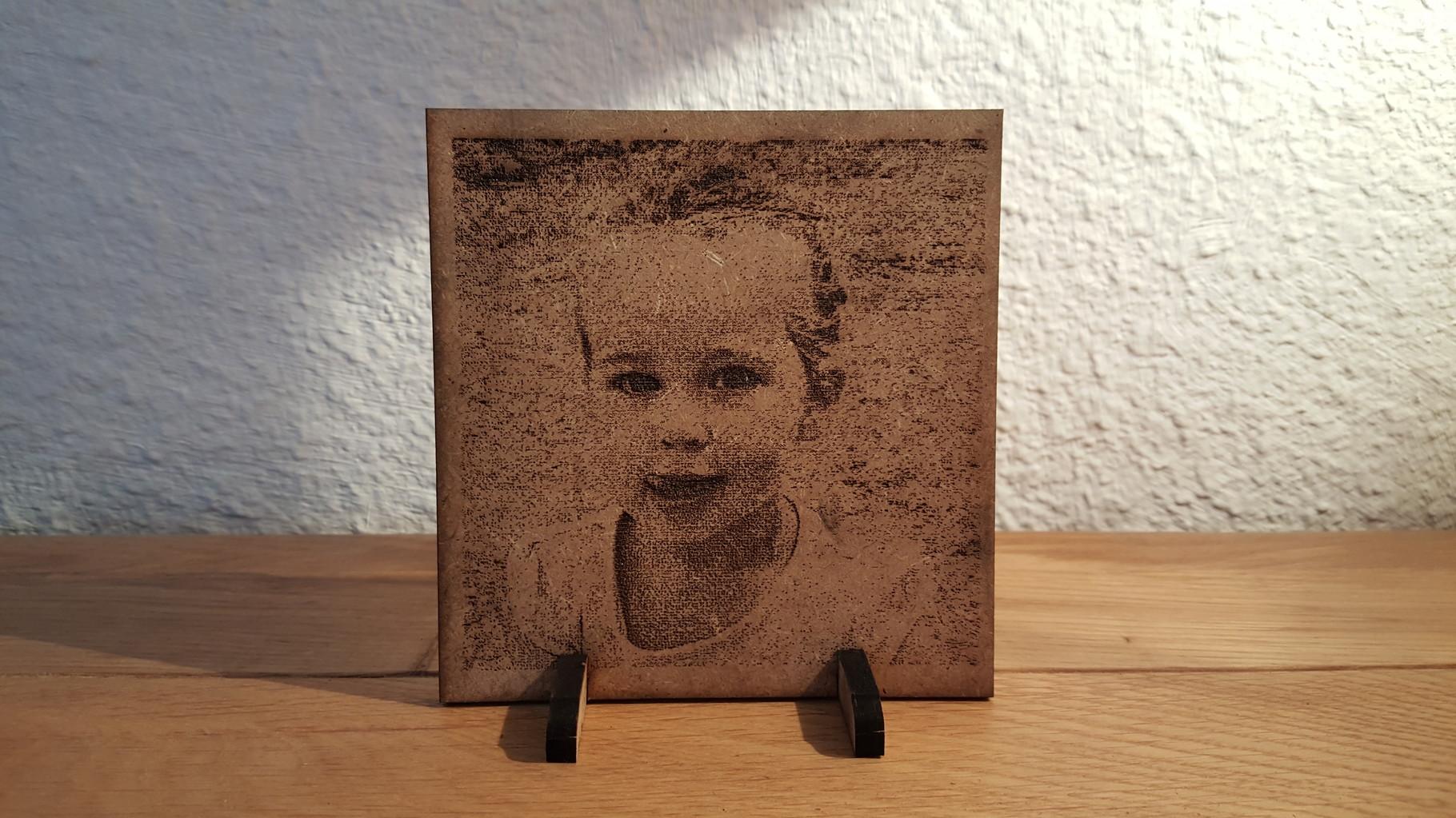 Gravure sur bois - Tous types de portrait