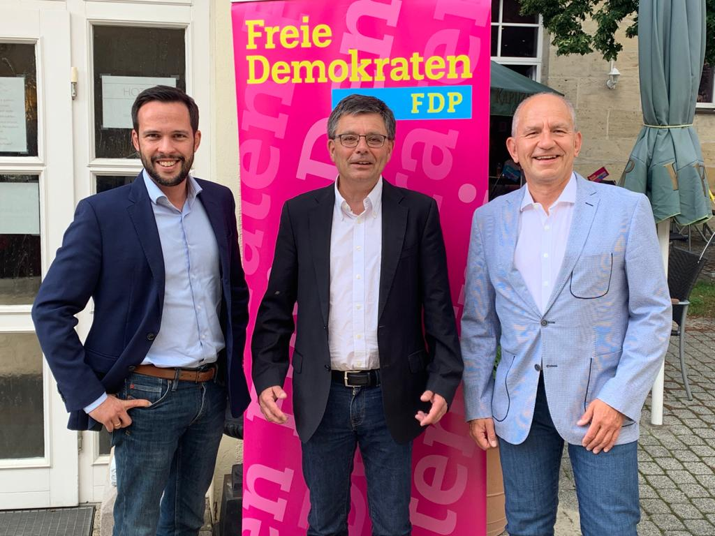 Erfolgreicher Wahlkampfauftakt der FDP im Landkreis