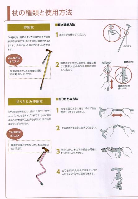杖の種類と使用方法①