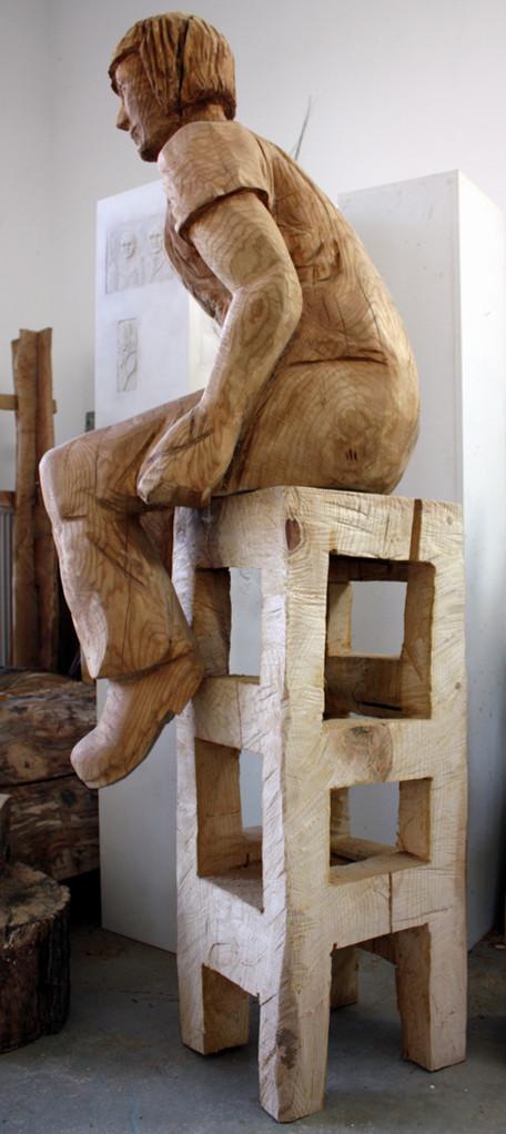 Sitzende, Erle 2012