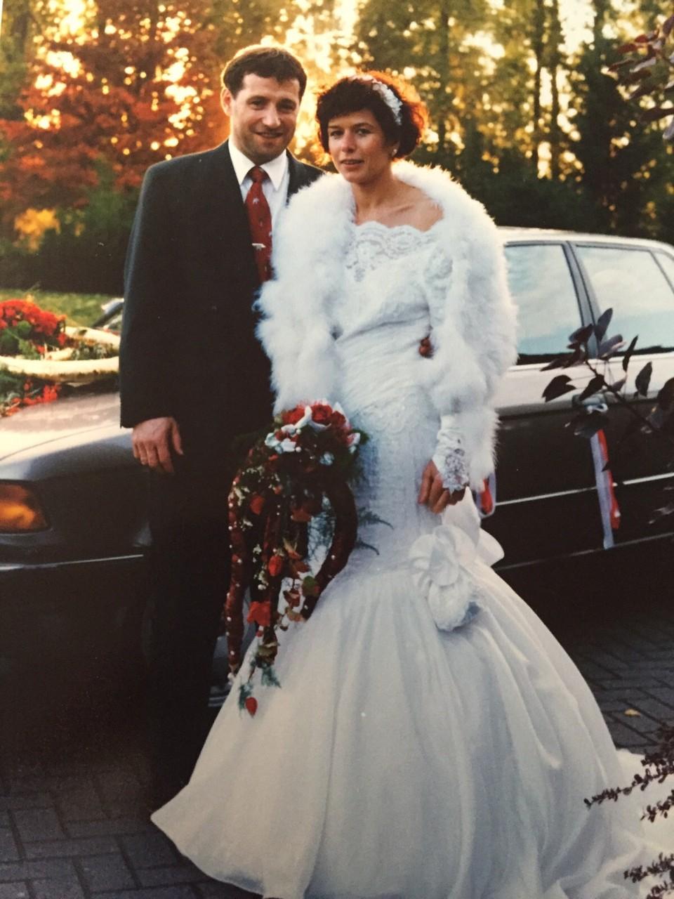Hochzeit von Rainer und Rosemarie Fritz in 1993