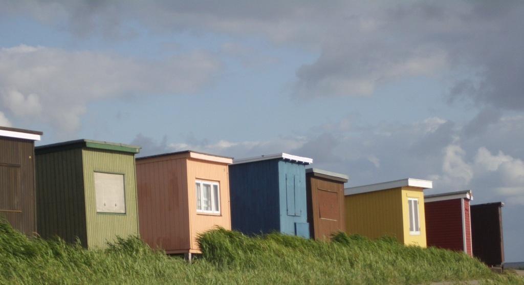 Strandbuden in Dagebüll
