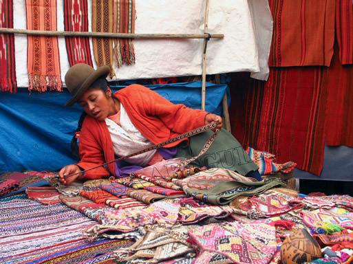 Pisac, marché artisanal
