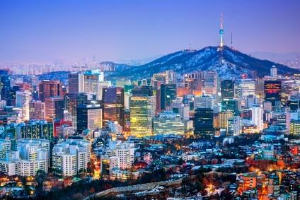 Seoul Hauptstadt von Südkorea