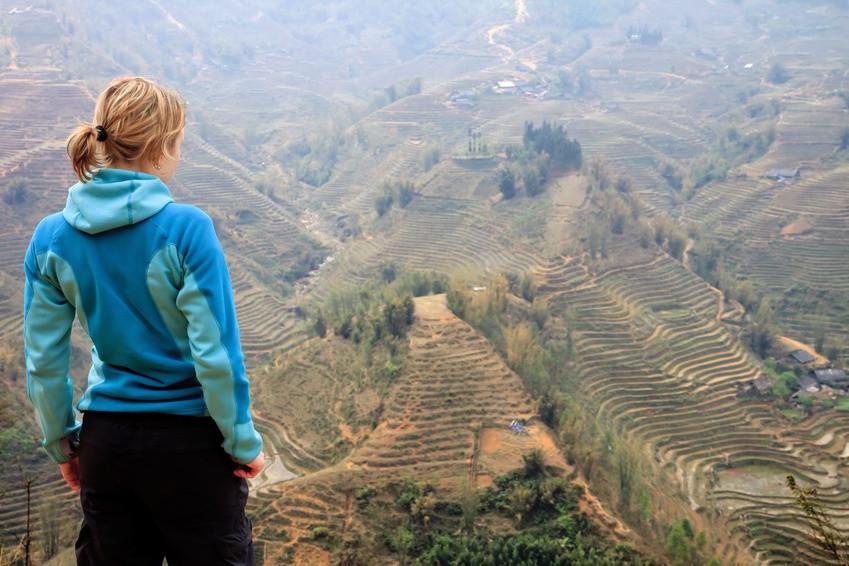 Die Reisterrassen in Vietnam