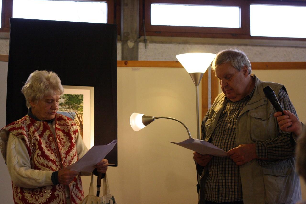 Sabine Day und Günter Reth
