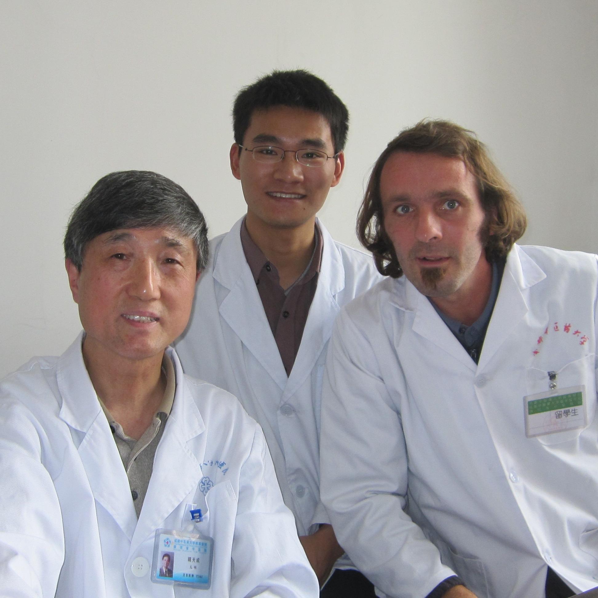 TCM Ausbildung Chengdu, China