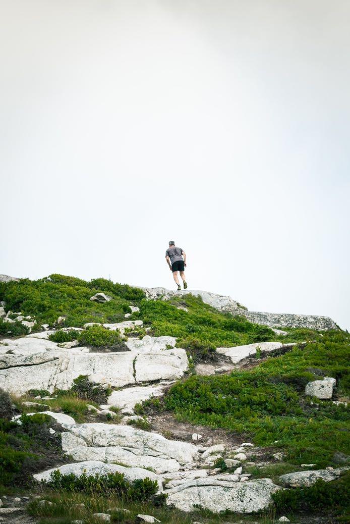 entrainement trail en côte