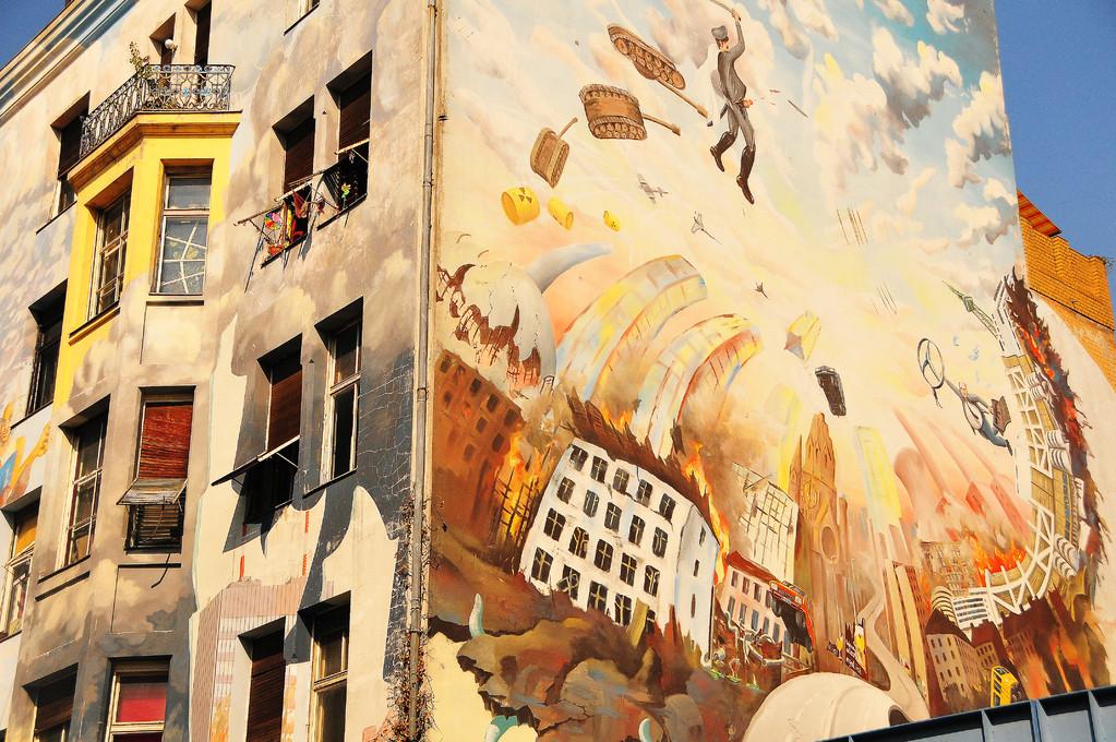 Street Art (Part 2), with heavy capitalist criticism