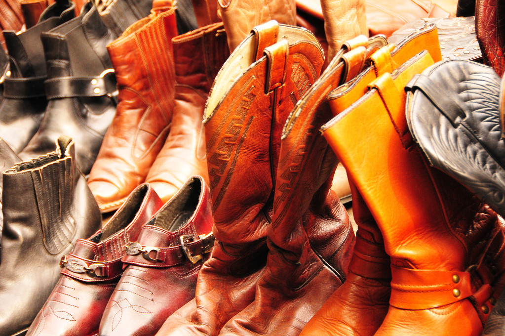 These boots are made for.....
