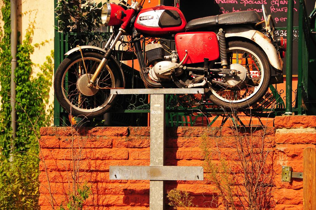 A real motorcycle fan