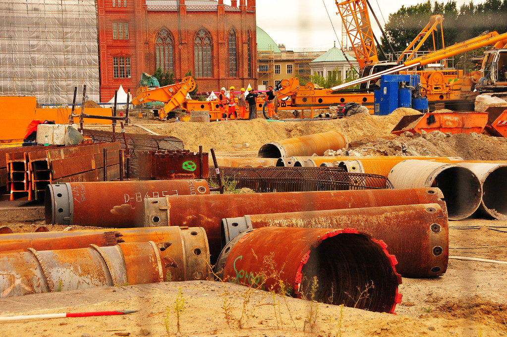 Berlin, the constant construction site