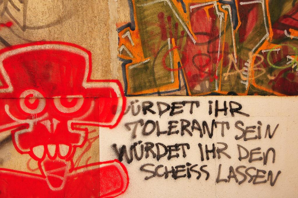 Street Art (Part 5), a message for tolerance