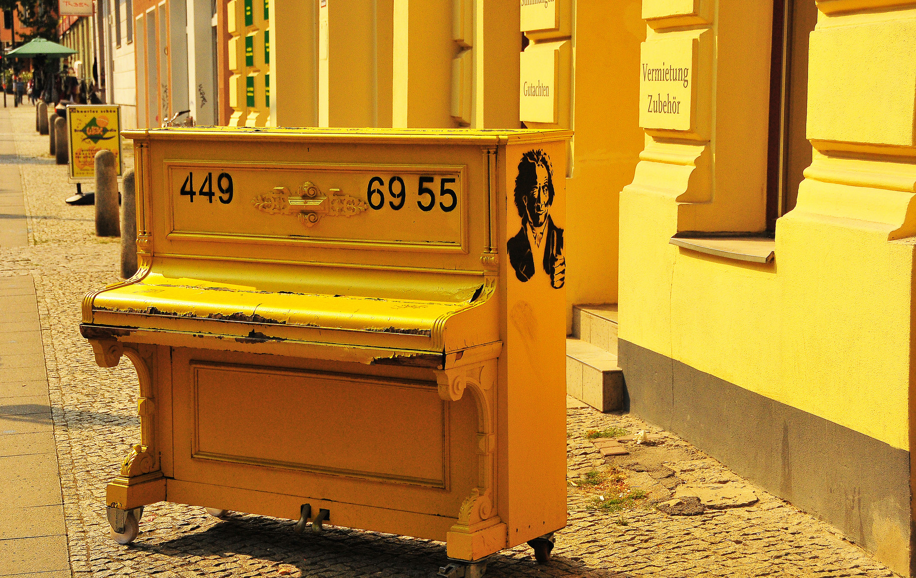 I have a piano in Berlin