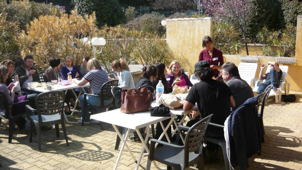 Pause auf der Terrasse Montpellier 2014