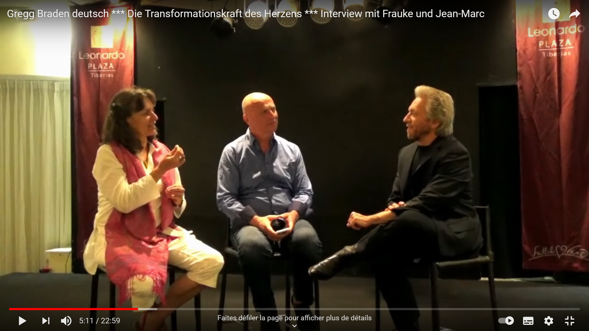 Interview mit Gregg Braden - Israel 2018