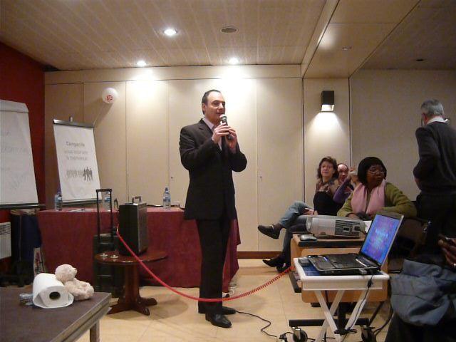 Großes Seminar in Paris 2012