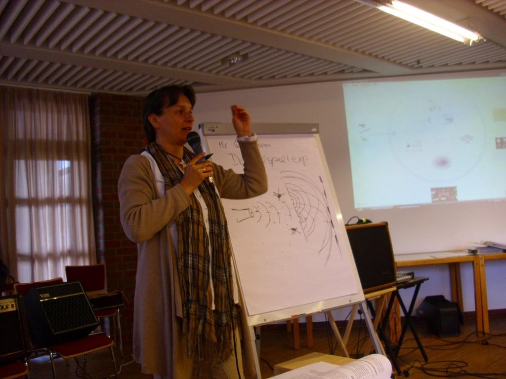 Erlebnis-Vortrag bei UPF Universal Peace Federation 2013