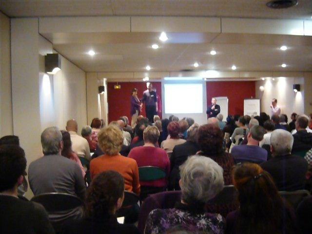 2 Punkt Seminar in Paris über 120 Teilnehmer 2012