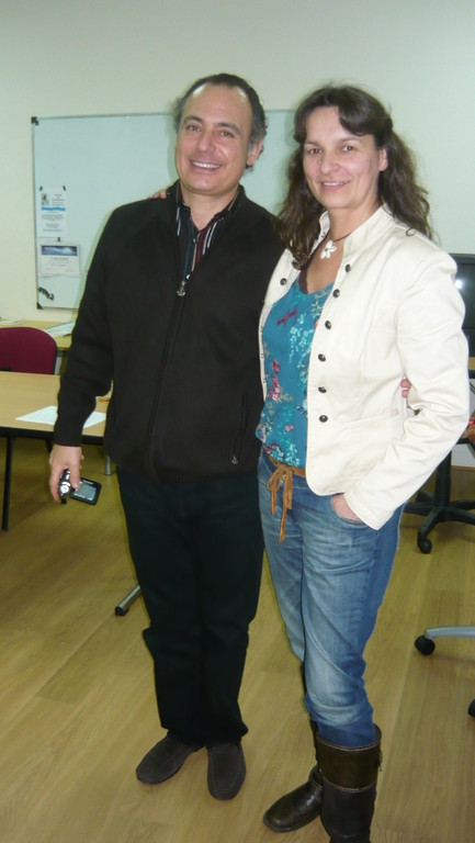 Premier contact avec Manuel Sperling sur mon séminaire 31.12.2011