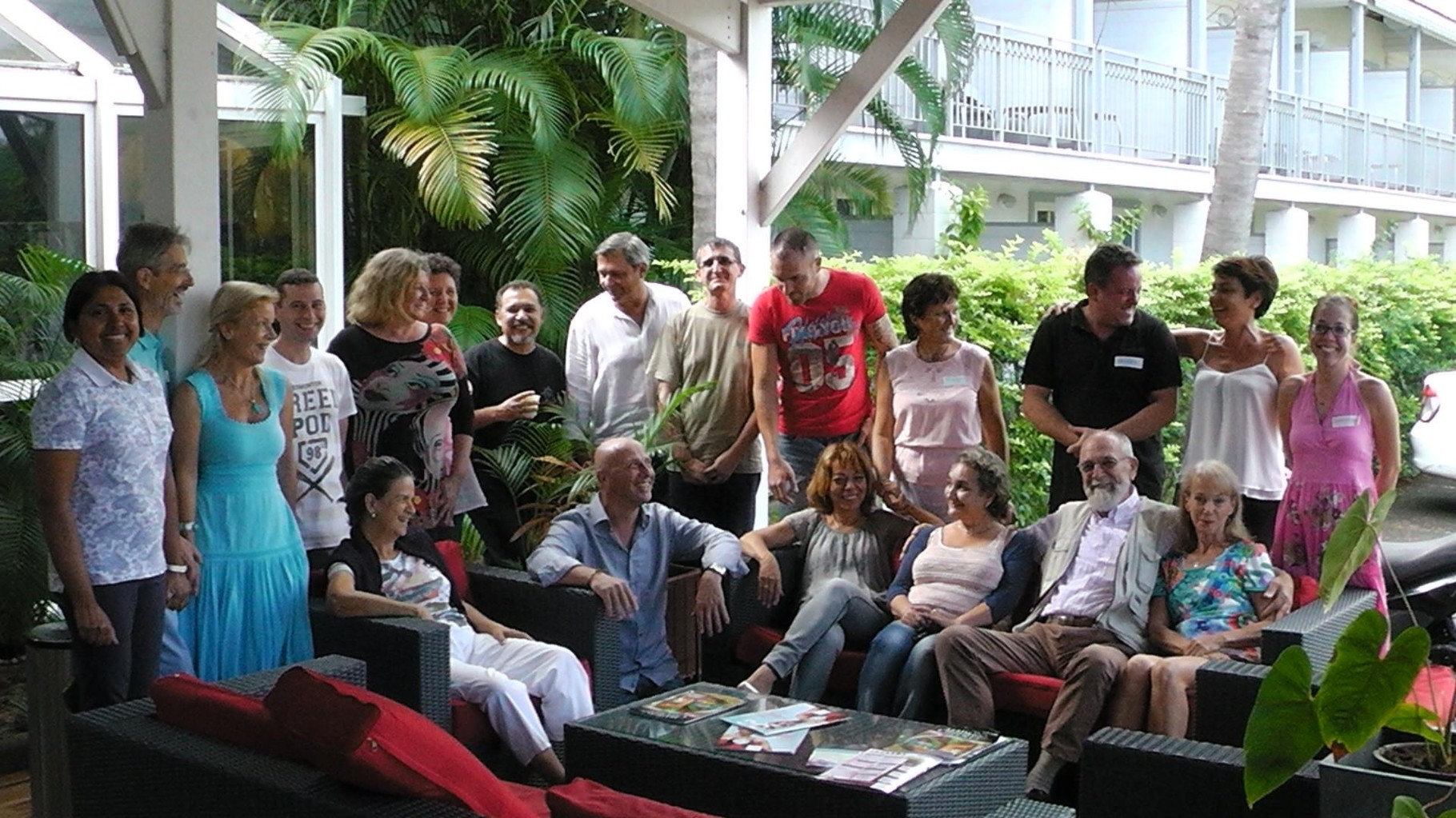 Super-spitzen -Gruppe !! 2PM Seminar La Réunion 2015