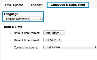Bild: Jimdo Webmail Sprache ändern
