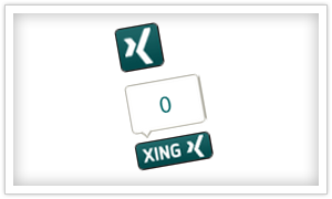 Xing Social Button Beispiel