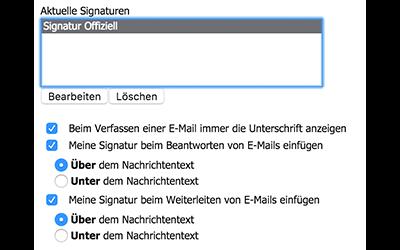 Bild: Jimdo Webmail E-Mail Wiederherstellen