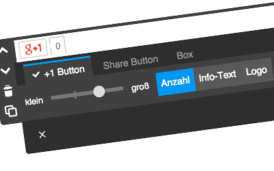 Google+: +1 Button
