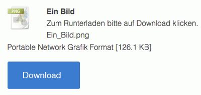 Bild: Dateidownload Element