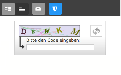 Bild: Formular-Element Captcha
