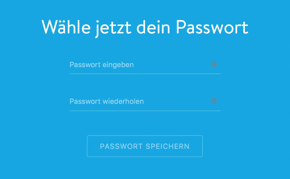 """6. Fast geschafft! Nun bestimmst du ein neues Passwort und klickst abschließend auf """"Passwort speichern"""". Fertig!"""
