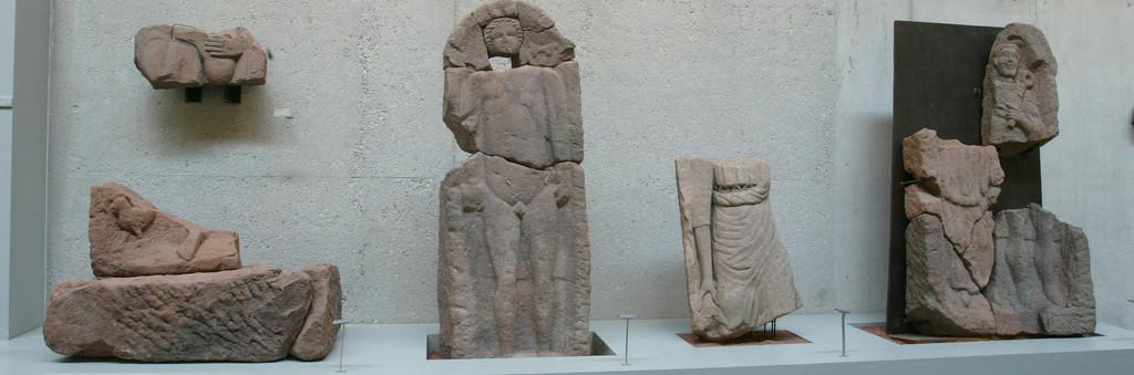 Stèles gallo-romaines - Musée du pays de Sarrebourg