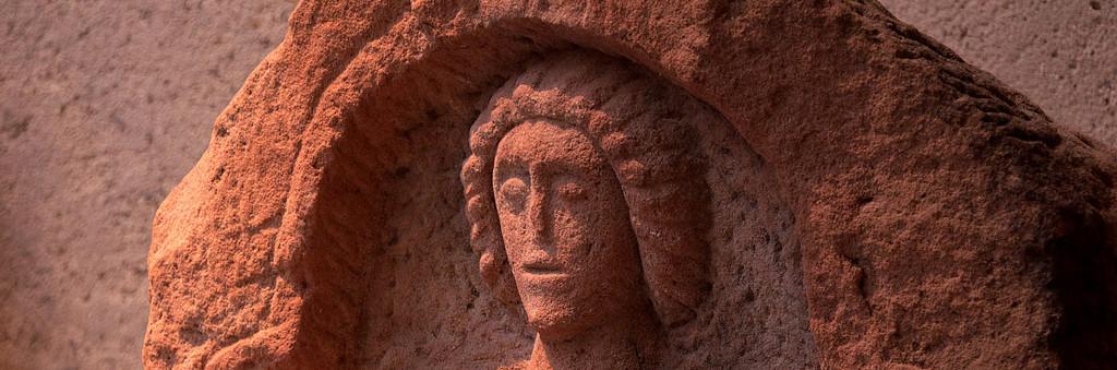 Stèle funéraire Croix Guillaume - Musée du pays de Sarrebourg