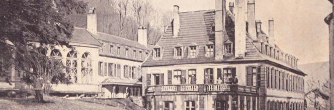 """Le """"Château"""", carte postale ancienne"""