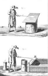 Maitres verriers - Gravure XVIIIe s. - verrerie Lettenbach saint-quirin