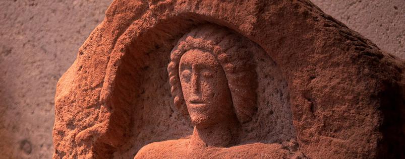 Stèle funéraire Gallo-romaine - Croix Guillaume