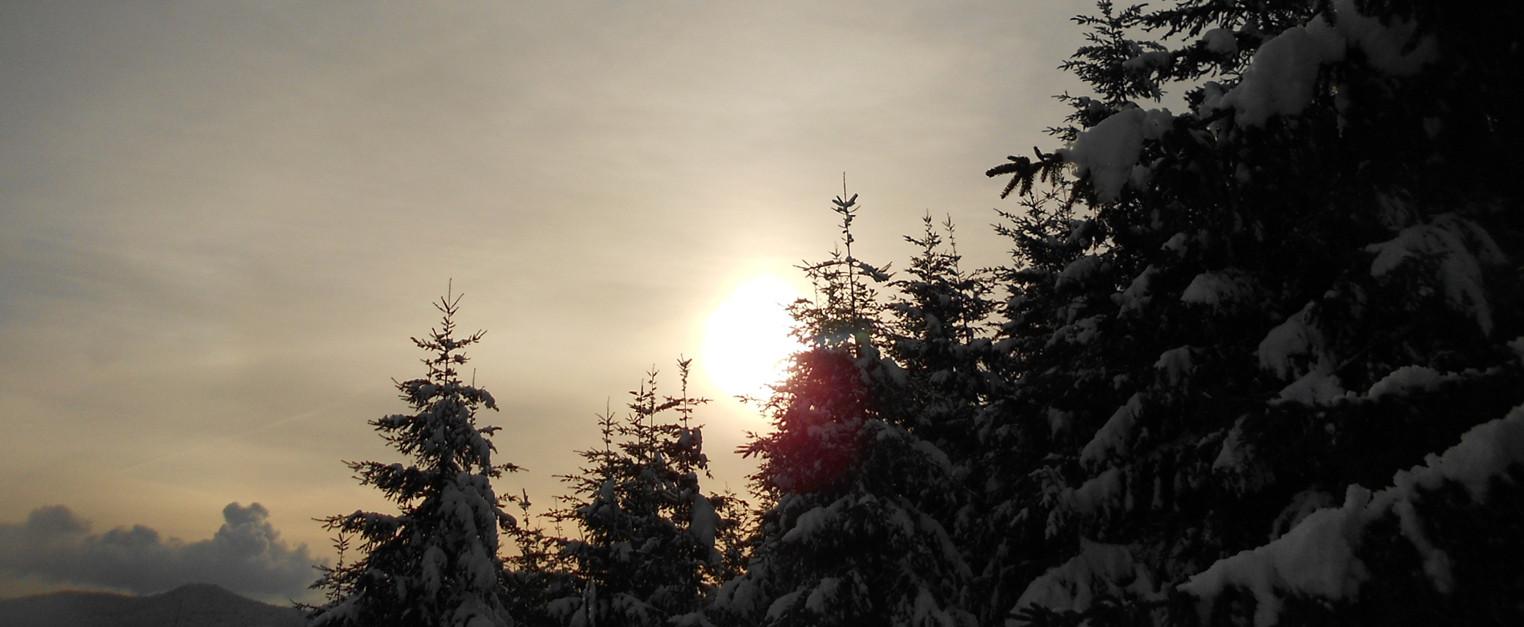 Lumière d'hiver - Rocher du Lamperstein