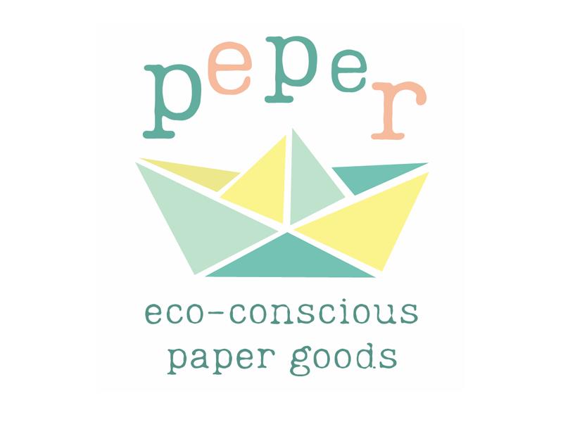 Logo voor papierwaren bedrijf / Logo for paper goods company